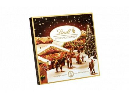 Lindt Adventní kalendář Vánoční trh 115g