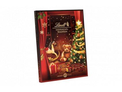 Lindt Luxusní adventní kalendář Vánoční tradice 253g