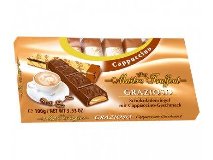 Maitre Truffout Čokoláda Cappuccino 100g