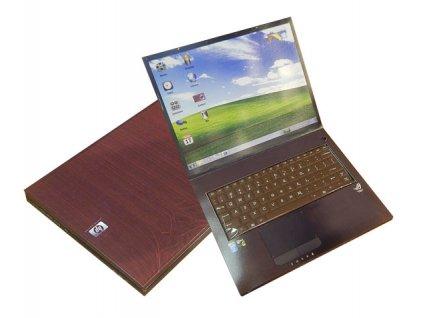 Notebook s čokoládovou klávesnicí 200g