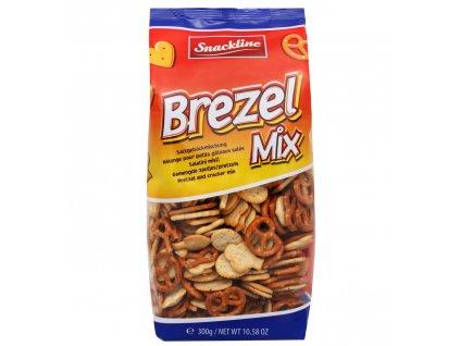 SnackLine Brezel mix slané preclíky 300g