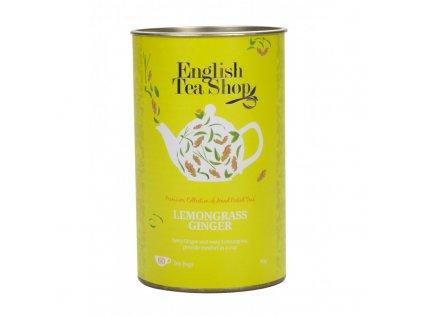 English Tea Shop Kanystr citrónová tráva, zázvor a citrusy 60 sáčků