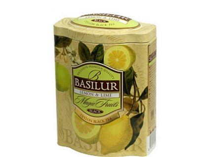 Basilur Magic Lemon & Lime plech 100g