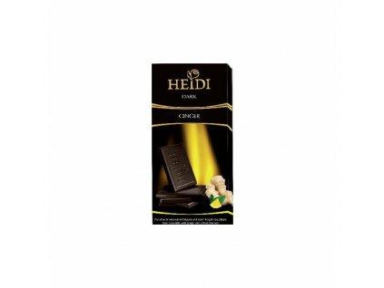 Heidi Hořká čokoláda Zázvor, citrón 80g