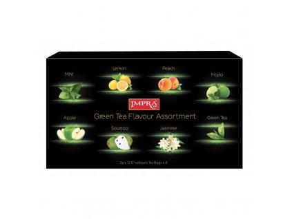 Impra Kolekce zelených čajů 2gx8x12