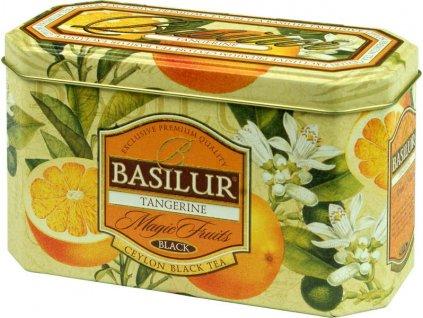 Basilur Magic Fruit Tangerine plech 20x2g