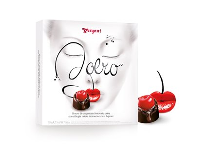 Vergani Boero Třešně v hořké čokoládě a likéru 200g
