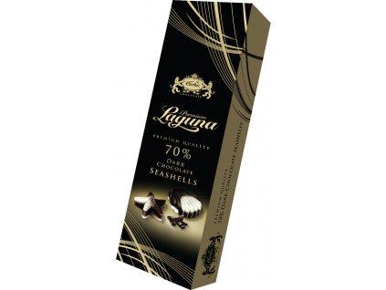Carla Laguna dark Pralinky z hořké čokolády s lískooříškovou náplní 50g