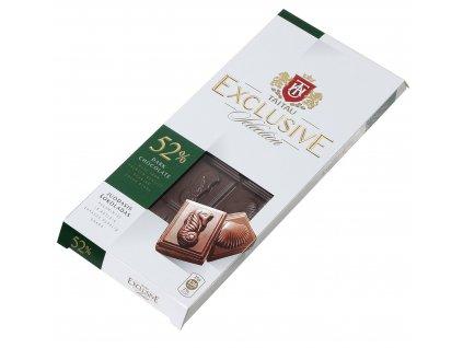 TaiTau Exclusive Prémiová hořká čokoláda 52% 100g
