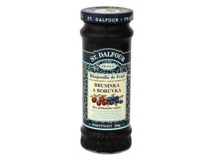 St. Dalfour Džem brusinka a borůvka 284 g