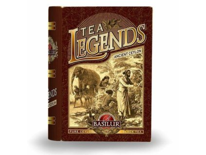 Basilur čajová kniha Legend Ancient Ceylon 100g min.trv.7.2021