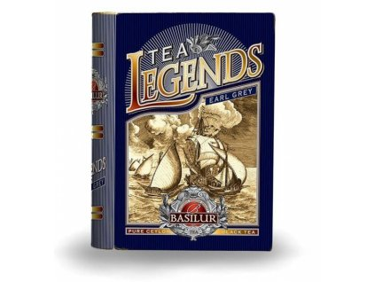 Basilur čajová KNIHA Legends Earl Grey 100g