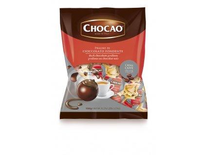 Vergani Hořká čokoládová pralinka s krémovou kávovou náplní 1kg