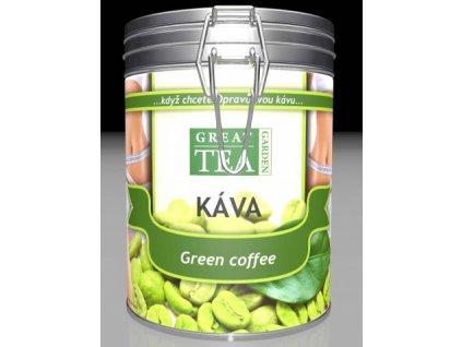 Zelená káva v plechové dóze 300g