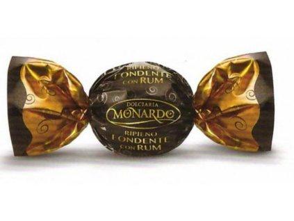 Monardo čokoládové pralinky Hořká čokoláda s náplní fondente 1kg