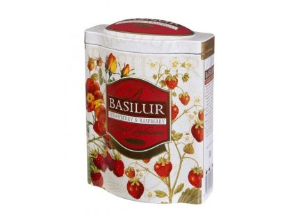 Basilur Strawberry and Rasberry plech 100g