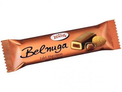 Zentis Bel Nuga - nugát s marcipánem v mléčné čokoládě 60g