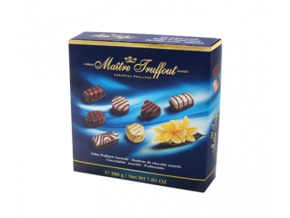 Maitre Truffout Výběr pralinek 200g