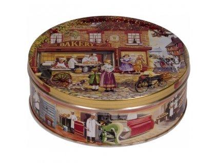 Jacobsens Bakery Máslové sušenky v plechové dóze Baker Shop 400g