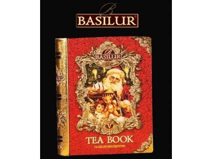 Basilur kniha červená Černý čaj s příchutí 100g