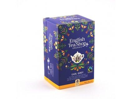 Černý bio čaj Earl Grey 20 sáčků