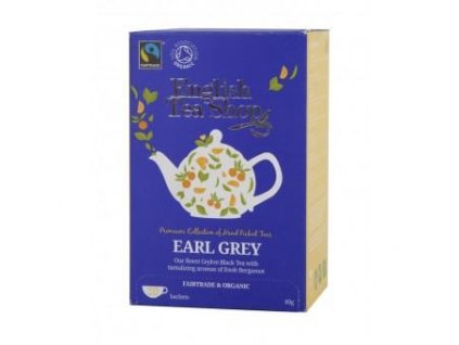 English Tae Shop Bio Fairtrade Earl grey 20 sáčků