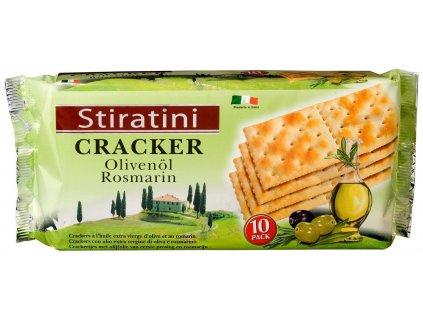Cracker s olivami a rozmarýnem 250g