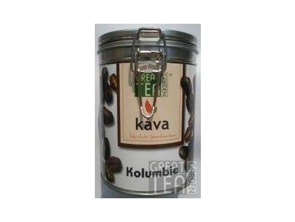 Great Garden Tea mletá káva Kolumbie v dóze s hermetickým uzávěrem 200g