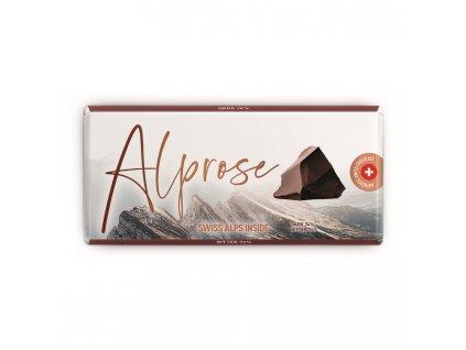 Alprose delikátní hořká čokoláda s obsahem cocoa 74% 300g