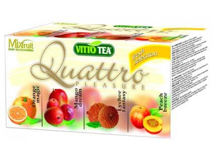 Vitto tea Quattro Fresh selection ovocný porcovaný v hygienickém přebalu 40g