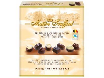 Maitre Truffout Směs vybraných belgických pralinek 250g