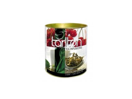 Tarlton zelený sypaný čaj višně 100g