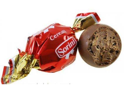 Sorini červeno-zlaté mléčné čokoládové pralinky 1kg