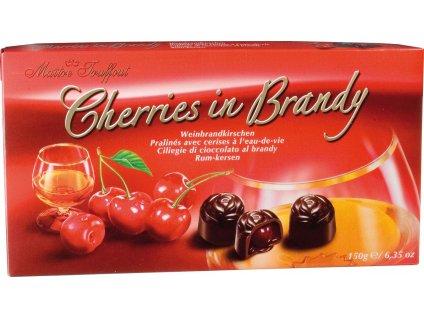 Maitre Truffout višně s likérem v hořké čokoládě 150g