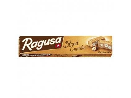 Camille Bloch švýcarská mléčná čokoláda Ragusa s ořechy a nugátem 400g