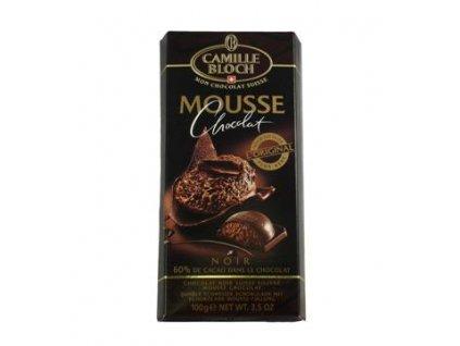 Camille Bloch delikátní hořká čokoláda mouse Noir 70% 100g