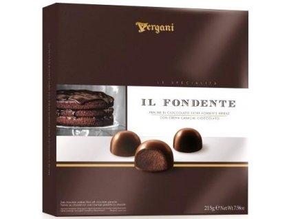 Vergani Il Fondente Pralinky z hořké čokolády 215g
