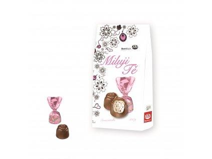 Born & syn čokoládové pralinky Miluji Tě 100g