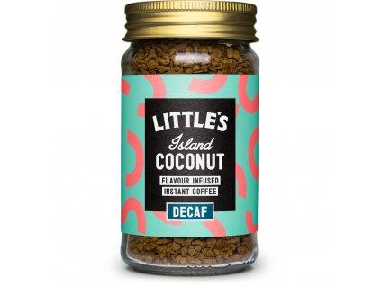 Littles bezkofeinová káva s příchutí kokosu 50g
