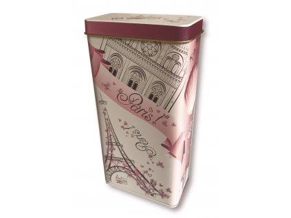 Born & syn Italské lískooříškové pralinky v plechové dóze s motivem Paříže 125g