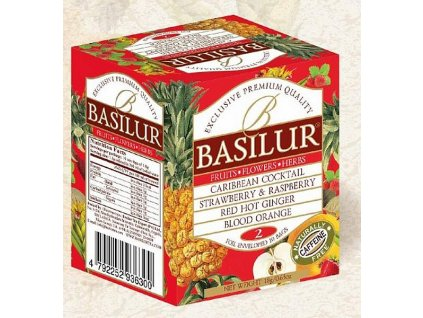 Basilur Fruit Infusions Assorted Volume II. přebal 10x1,8g
