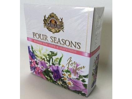 Basilur Four Seasons For You Purple Assorted přebal 40č.s.