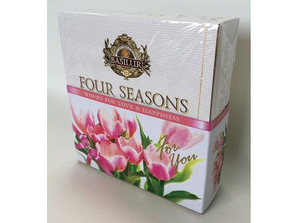 Basilur Four Seasons For You Pink Assorted přebal 40č.s.