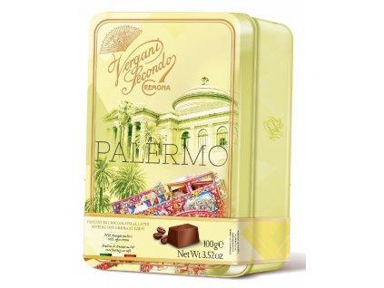 Vergani Palermo Mléčné pralinky s kávovým krémem 100g