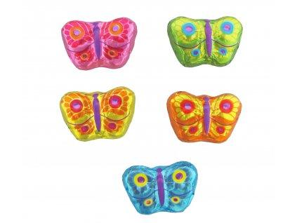 Barevný motýlek mléčná čokoláda 5g