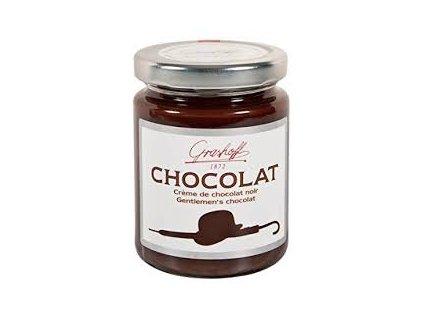 Grashoff tmavý čokoládový krém Gentlemen s 30 % kakaem 250 g