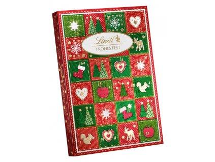 Lindt Adventní kalendář Merry Christmas 115g