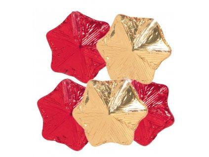 Vánoční hvězdy z mléčné čokolády 12.5g