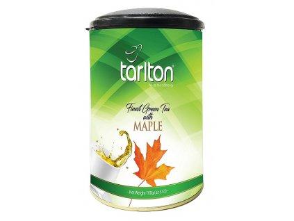 Tarlton zelený sypaný čaj Maple s javorovým sirupem 100g