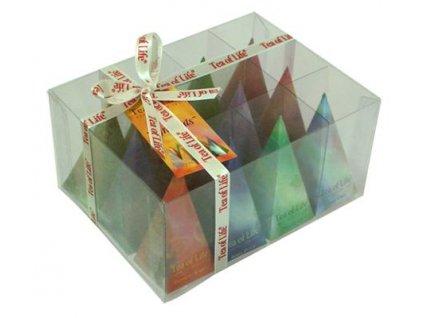 Tea of Life dárková směs více druhů pyramidek 12kusů
